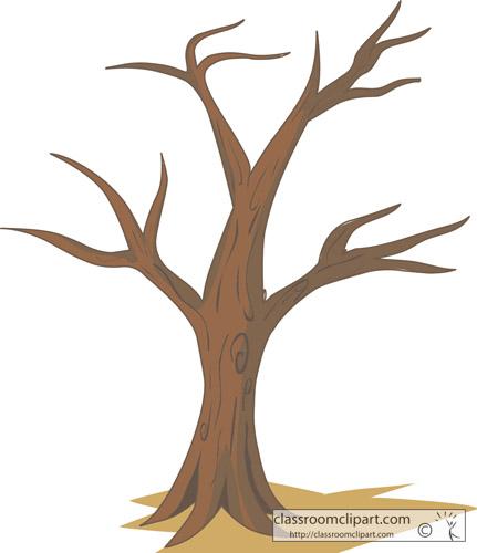 Trees Tree No Leaves Classroom Clipart
