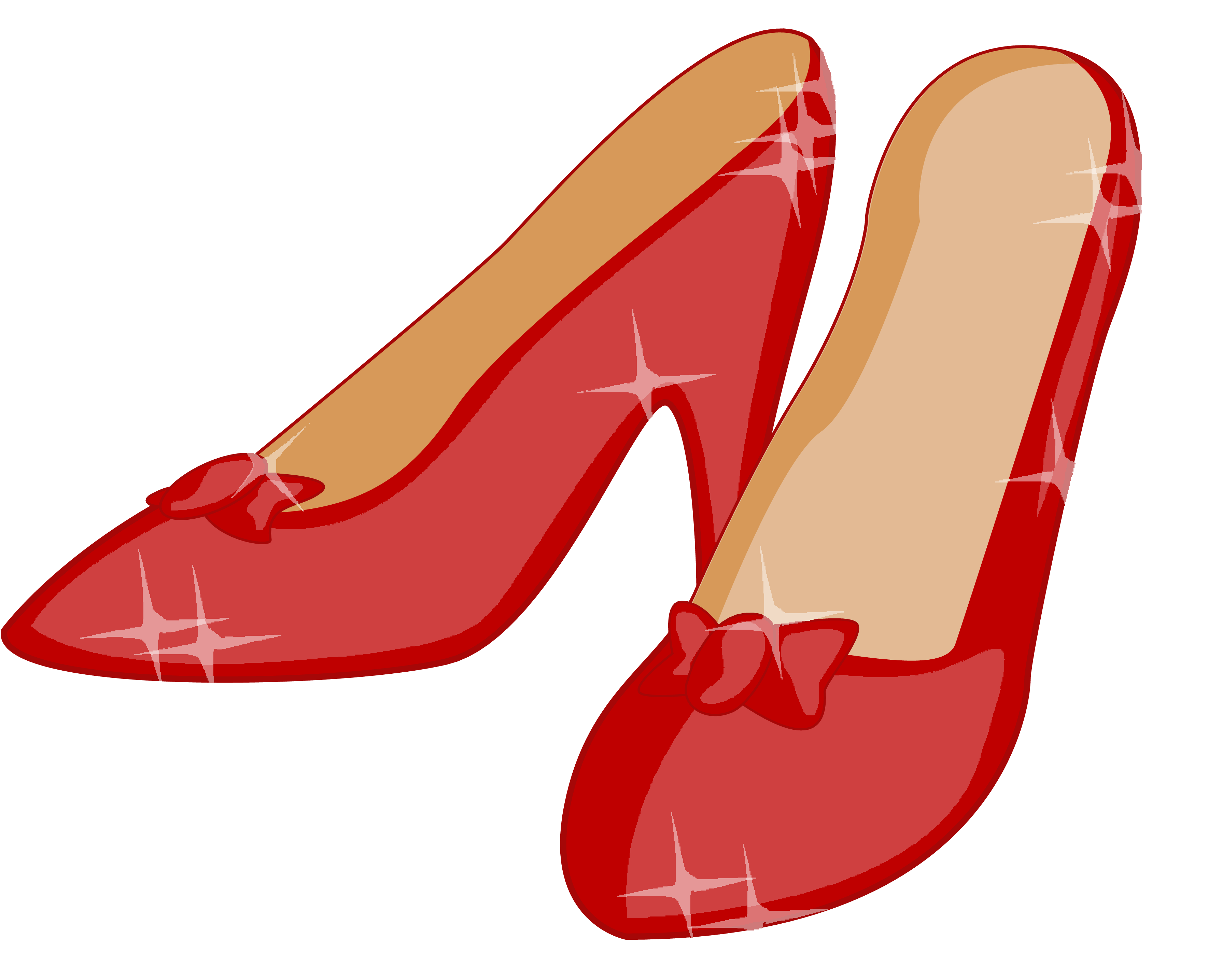 Trends For Red Shoes Clipart
