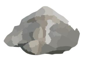 Triangular Rock Clip Art