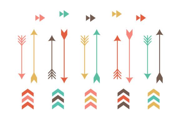 Tribal Arrow Clip Art Illustrations On C-Tribal Arrow Clip Art Illustrations On Creative Market-14