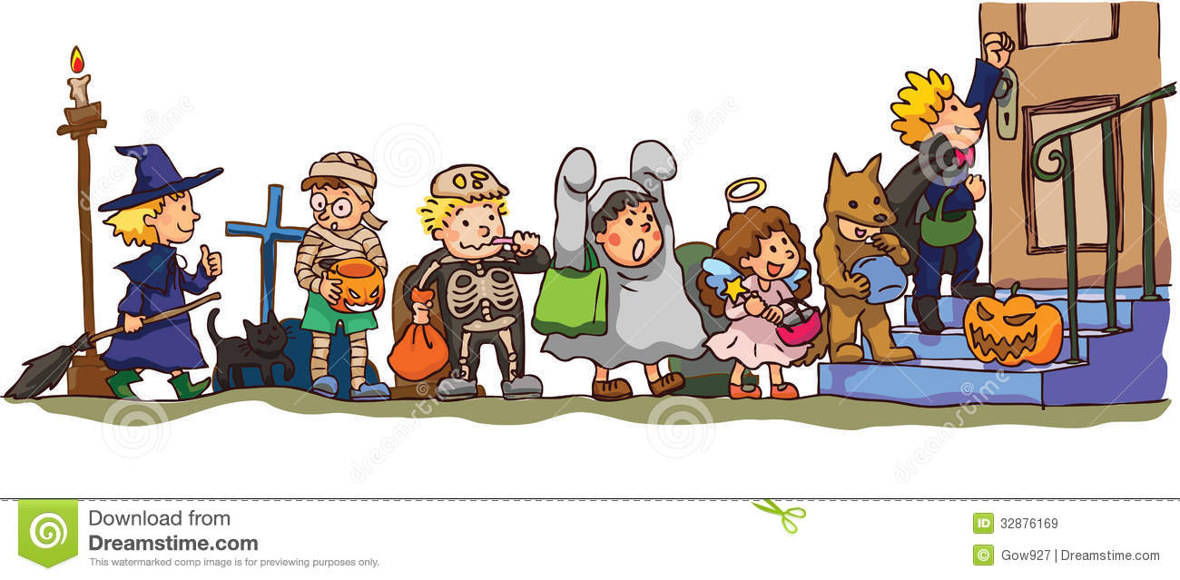 Trick Or Treat Clipart toddler
