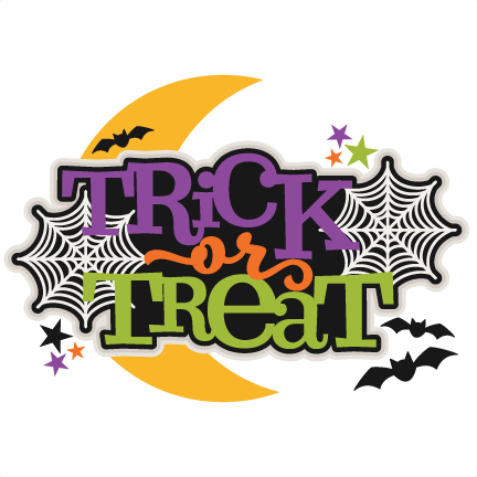 Trick or Treat Title scrapbook cut file cute clipart files for silhouette  cricut pazzles free svgs free svg cuts cute cut files