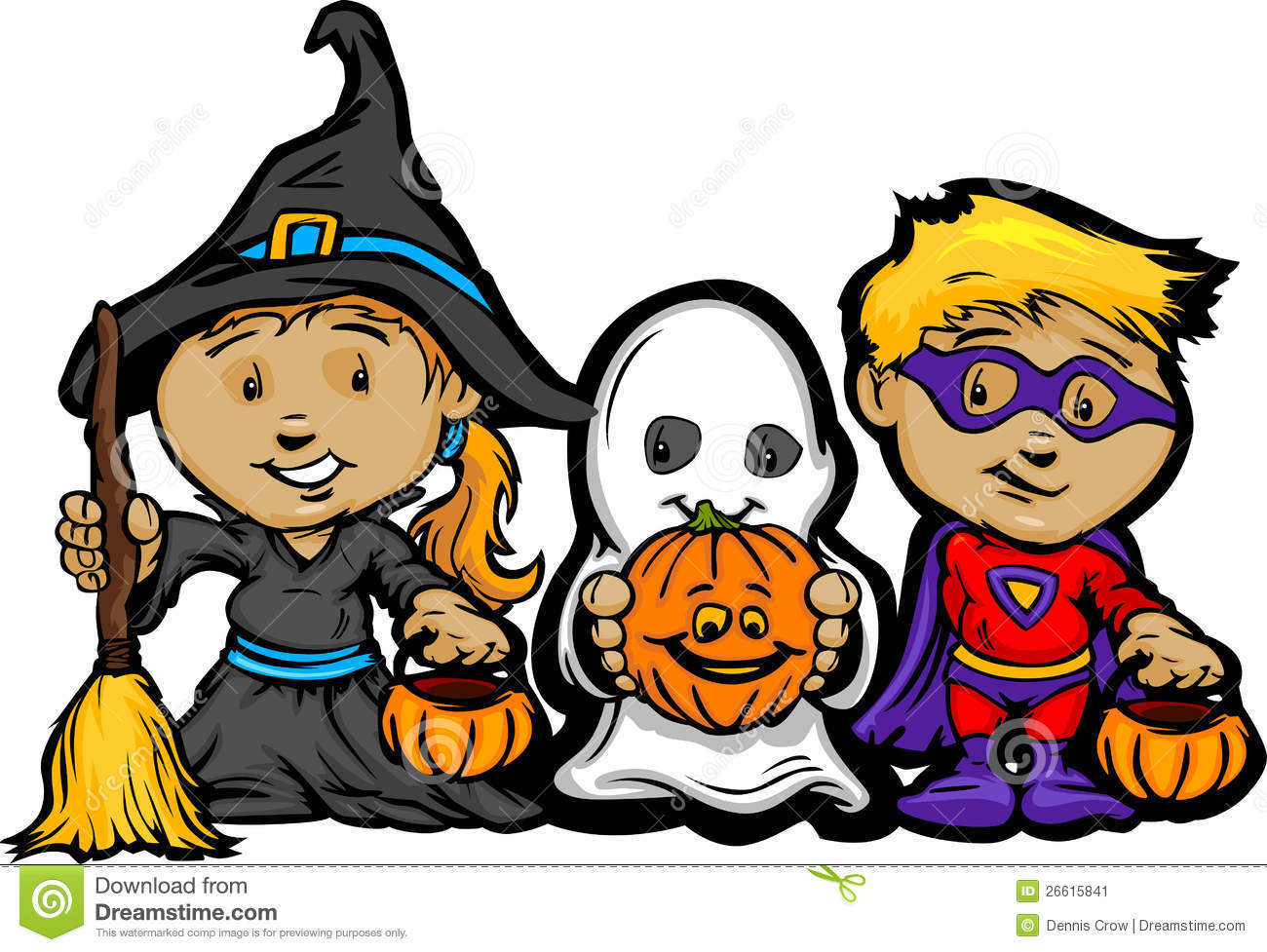 Trick or treat clipart - .