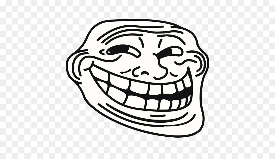 Rage comic Internet troll Trollface Clip art - troll
