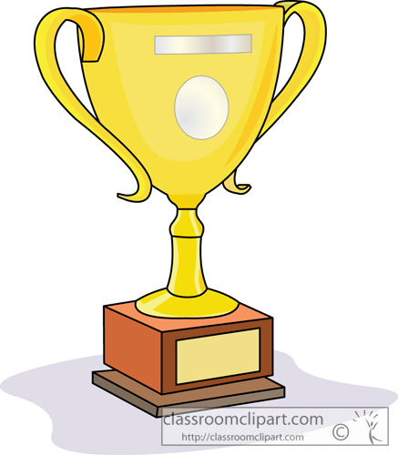 Trophy Clipart Achievement Trophy Prize