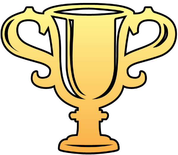 Trophy Cutout Clip Art At Clker Com Vector Clip Art Online Royalty