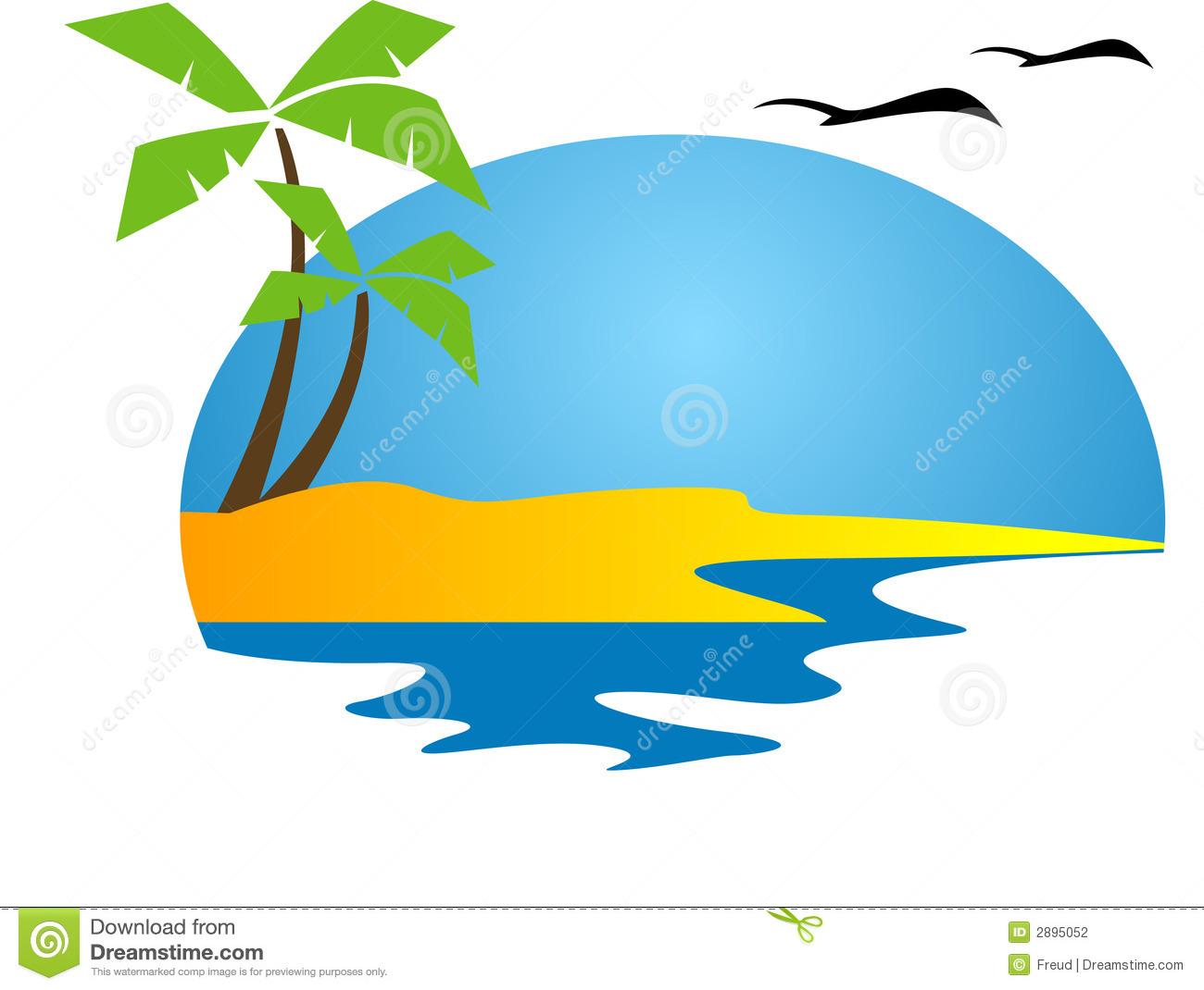 tropical island clipart-tropical island clipart-15