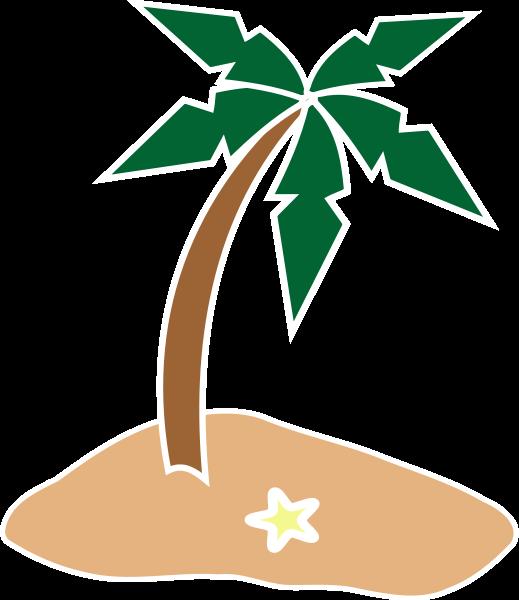 tropical island clipart-tropical island clipart-0