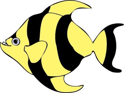 Tropical Fish clip art Vector clip art --Tropical Fish clip art Vector clip art - Free vector for free download-7