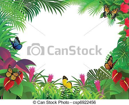... tropical forest background