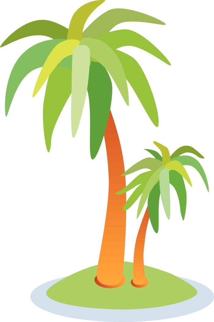 Tropical palm trees clipart free clip art images image 7 2