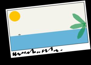 Tropical Postcard Clip Art At ..