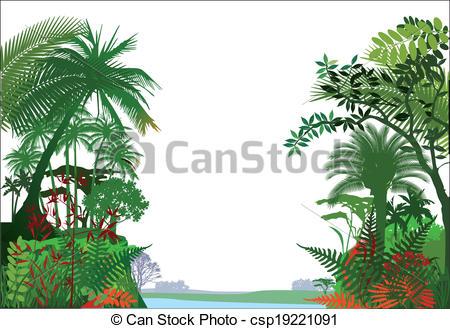 ... tropical rainforest Jungle