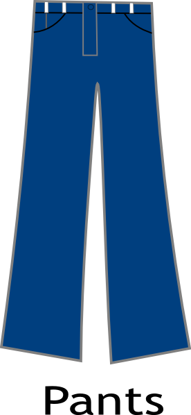 trousers clipart