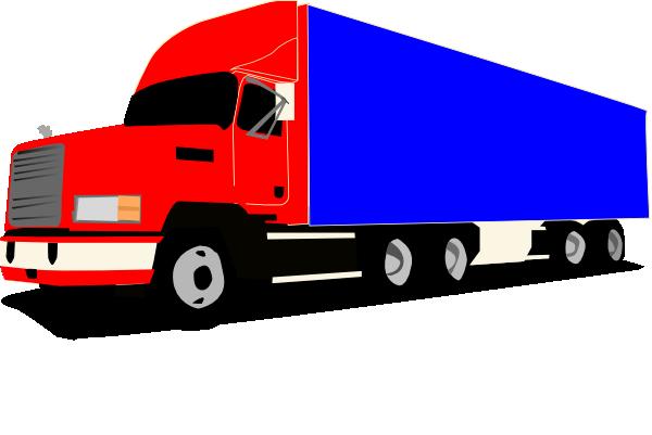 Truck 18 Wheeler Trucker Clip Art At Clker Com Vector Clip Art