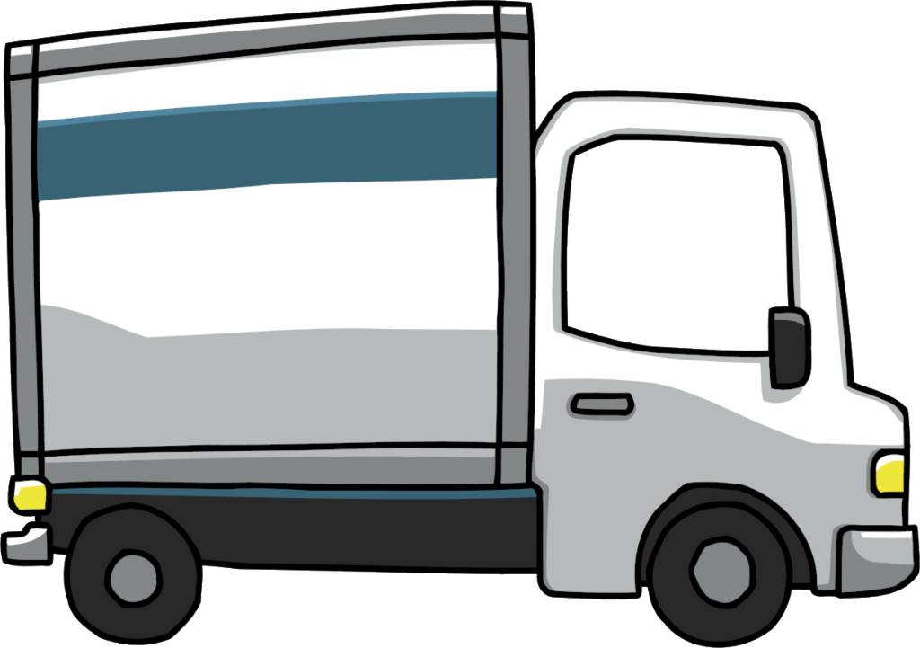 Truck clipart image - Delivery Truck Clipart