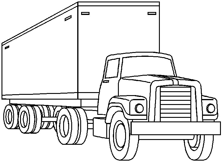 Truck clipart truck free image