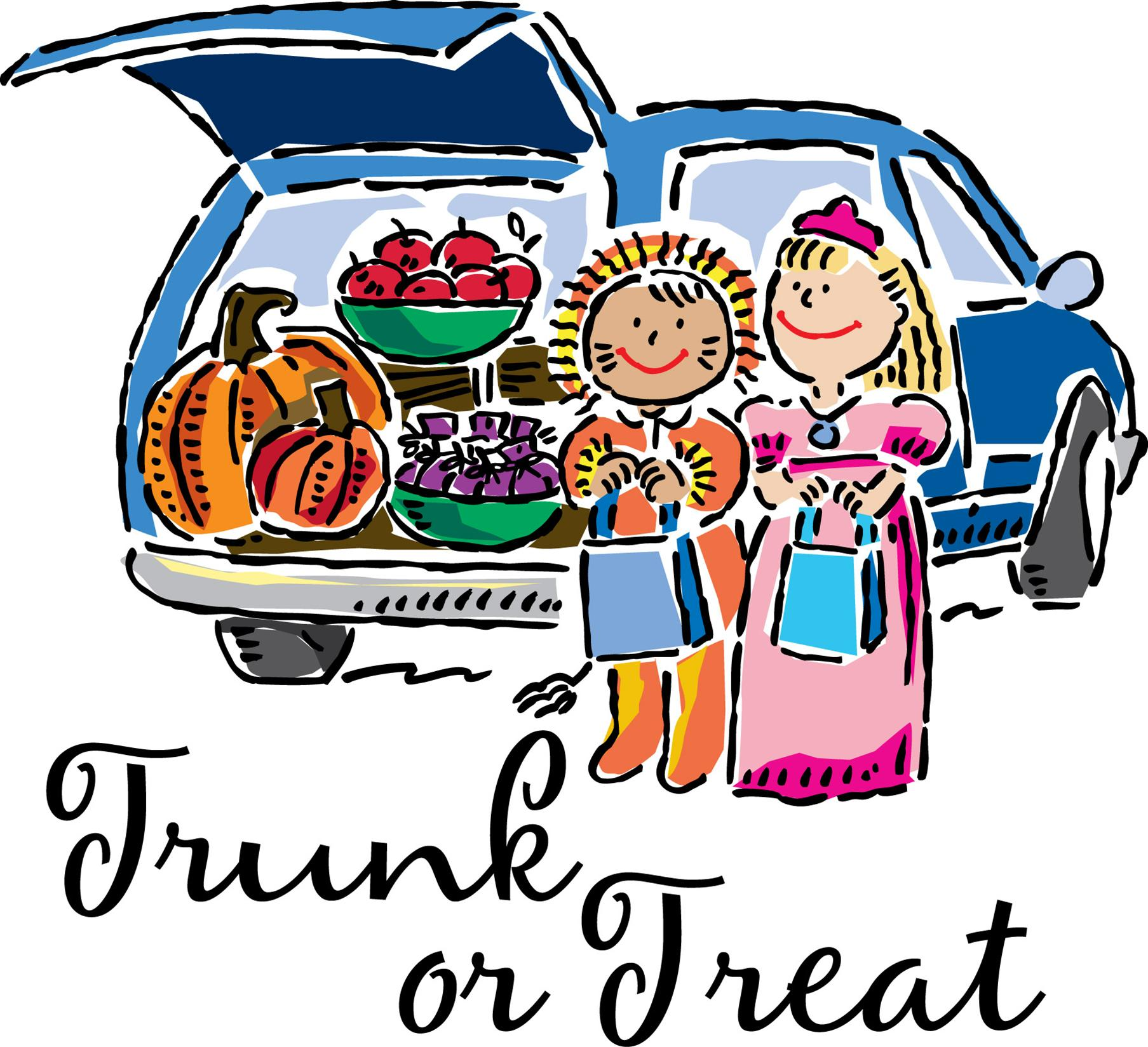 Trunk Or Treat Clip Art ... - Trunk Or Treat Clip Art