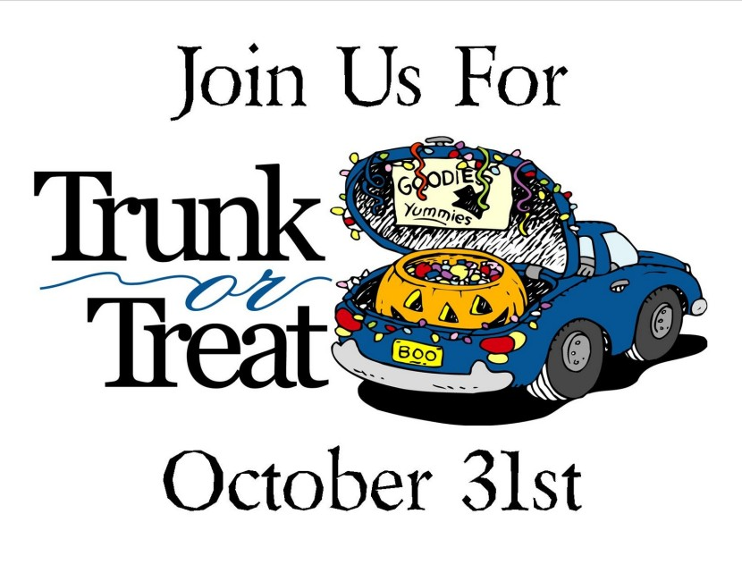 Trunk Or Treat Clip Art - Trunk Or Treat Clip Art