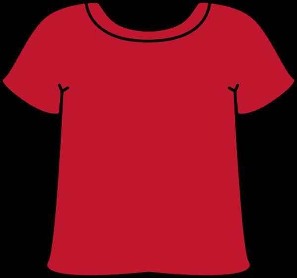 Red Tshirt - Tshirt Clipart