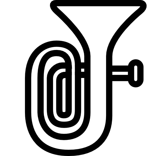 Tuba Black White Line Art Scalable Vecto-Tuba Black White Line Art Scalable Vector Graphics Html-8