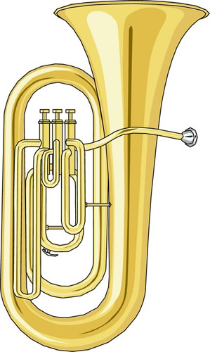 Tuba horn clipart free clipart image ima-Tuba horn clipart free clipart image image-6