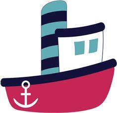 Tugboat Clipart. เงา
