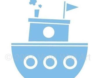 Tugboat Clipart - Tugboat Clipart
