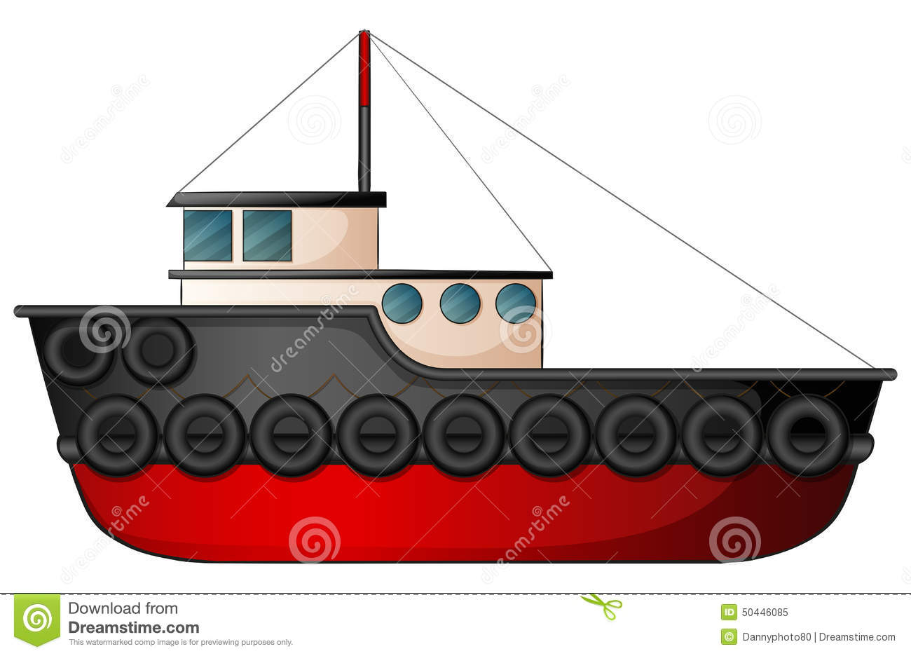 Tugboat Royalty Free Stock Ph - Tugboat Clipart