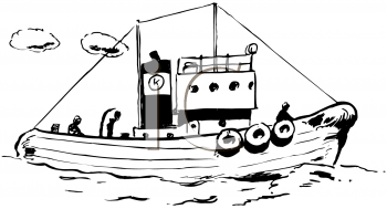 Tugboat - Tugboat Clipart