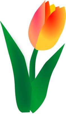 Tulip Clip Art-Tulip Clip Art-8