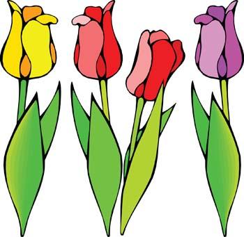 Tulip Flower Clip Art-Tulip Flower Clip Art-14