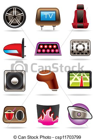 Cars tuning accessories - csp11703799