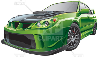 Tuning street-racing car, 6185, download royalty-free vector vector image  ClipartLook.com