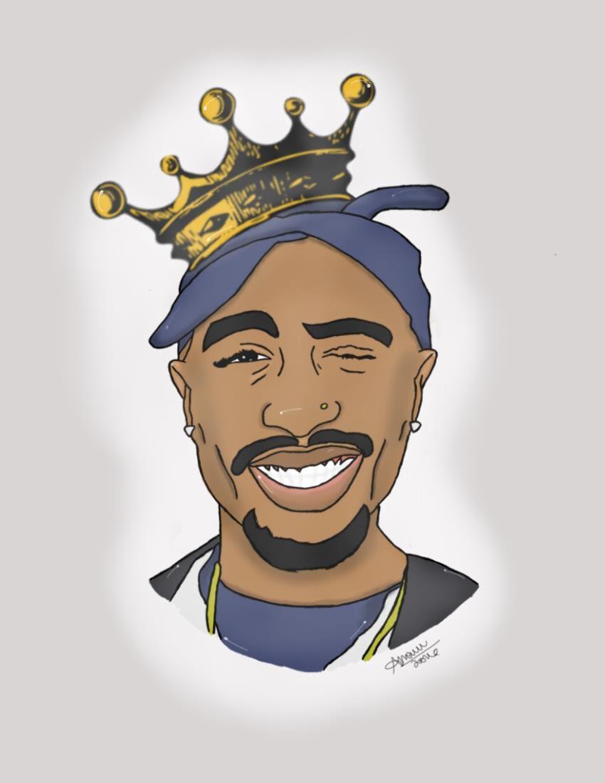 Tupac Shakur Clipart-Clipartlook.com-850