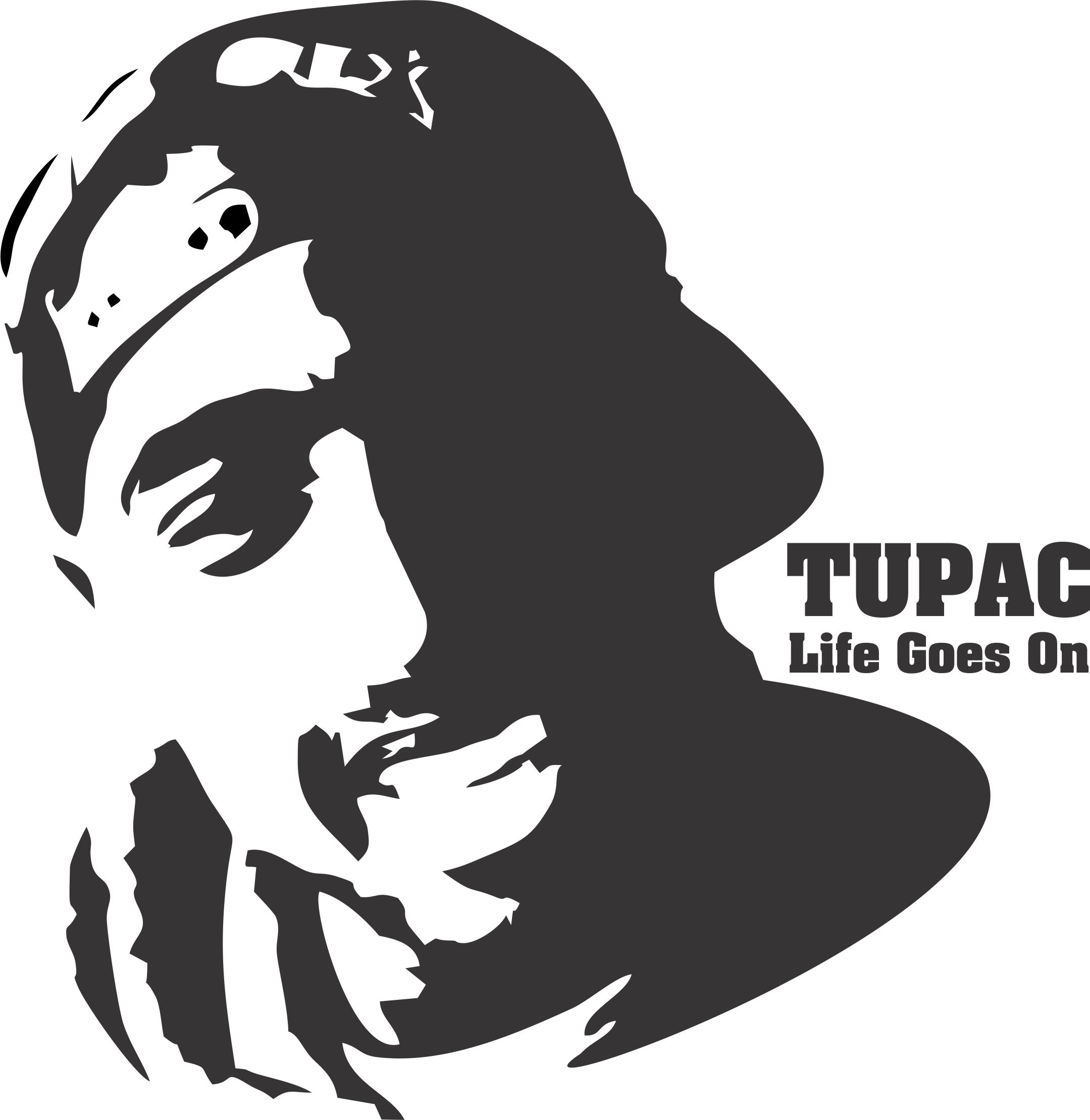 free vector Tupac Shakur T Shirt Design Vector ClipartLook.com