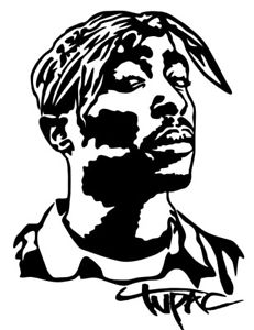 Image is loading TUPAC-SHAKUR-Vinyl-Decal-Sticker-Bumper-Wall-Car-