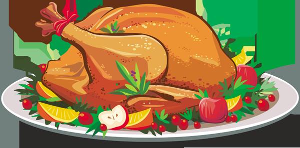 Turkey Dinner Clipart-turkey dinner clipart-12