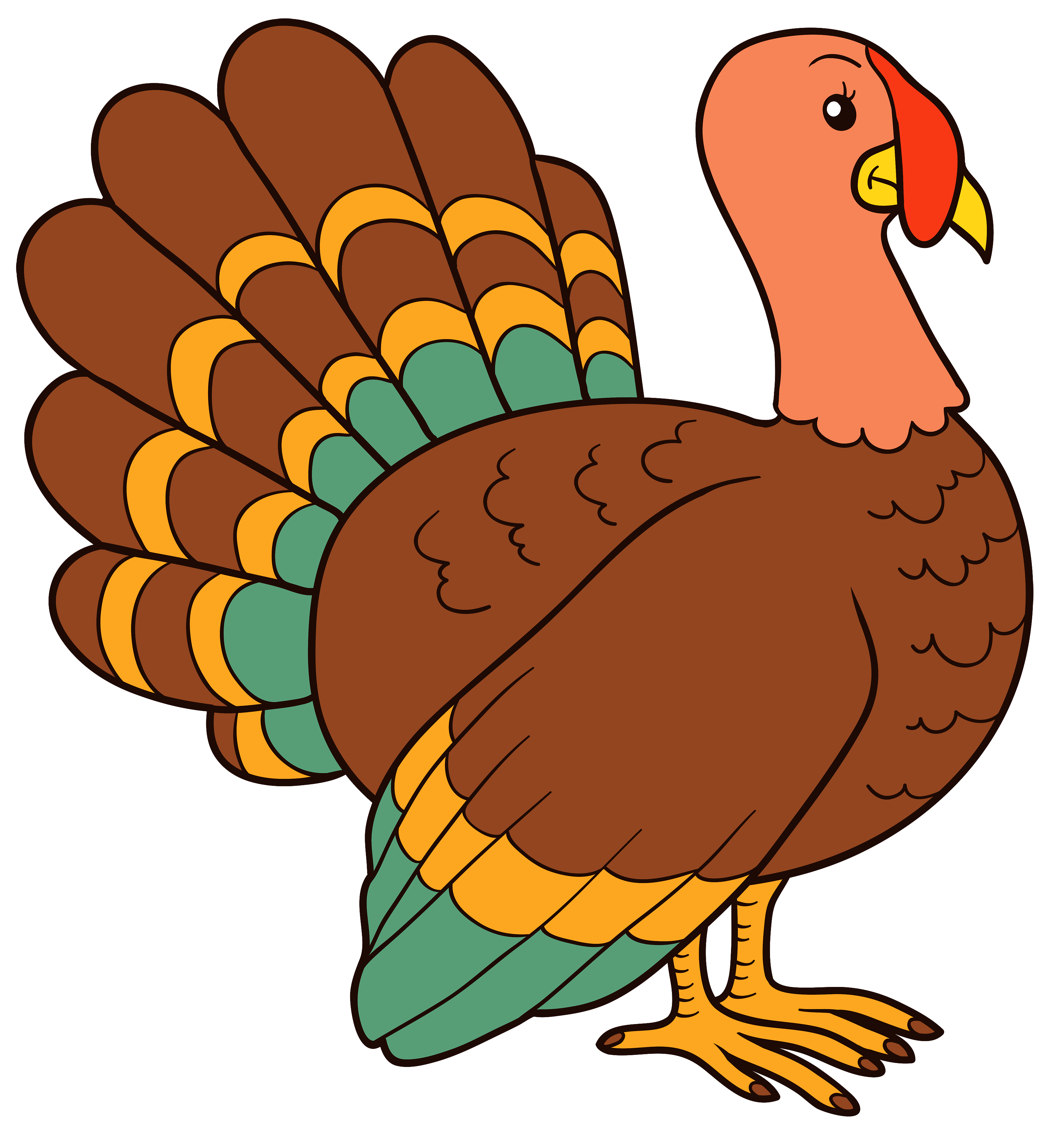 Turkey PNG Clipart Image