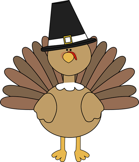 Turkey Wearing a Pilgrim Hat-Turkey Wearing a Pilgrim Hat-10