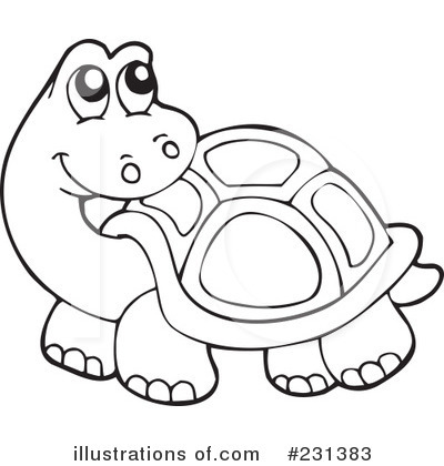 Turtle Clipart 231383 By Visekart Royalty Free Rf Stock