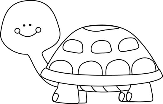 Turtle clipart black and white. free clipart images black and .