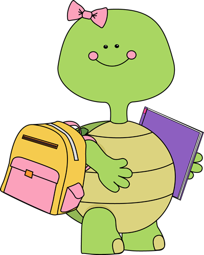Turtle Going to School