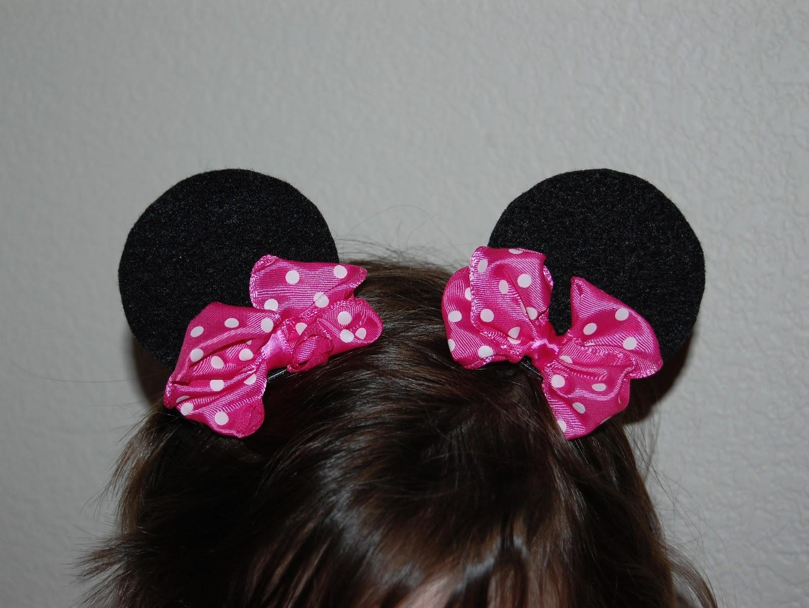 Tutorial: Minnie Mouse Ear Hair Clips