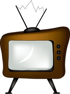 Old Tv Shows Clipart #1