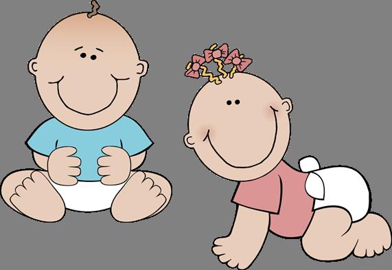 Twin Babies Clipart 1 Custom Twins Guest Book