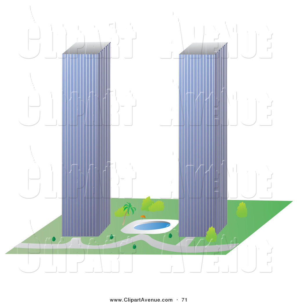 Twin Tower Building Clipart-Twin Tower Building Clipart-13