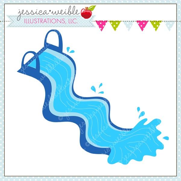 Twisty Water Slide Jw Illustrations U002-Twisty Water Slide Jw Illustrations u0026middot; Water Slide Clip Art-9