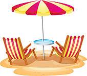... Two Beach Chairs White Sand ...-... two beach chairs white sand ...-15