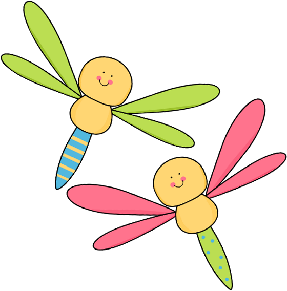 Two Dragonflies